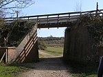 File:A new bridge on the disused railway line, New Forest - geograph.org.uk - 375103.jpg
