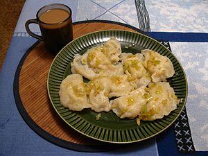 Moldovan cuisine - Image: A plate of burechiuşe
