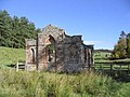 A ruined building near the remains of Abbotrule Church - geograph.org.uk - 255087.jpg