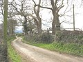A twisting country road passing Bron Wylfa Farm - geograph.org.uk - 729404.jpg