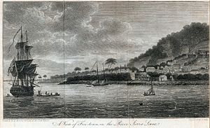 A view of Freetown, 1803