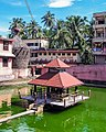 A view of Udupi Krishna temple tank, Karnataka India.jpg