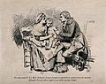 A young Edward Jenner vaccinates an anxious looking child se Wellcome V0018752.jpg