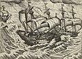 Aanvaring tussen de schepen van Barentsz en Van Linschoten, 1595, NG-1979-564-7 (cropped).jpg