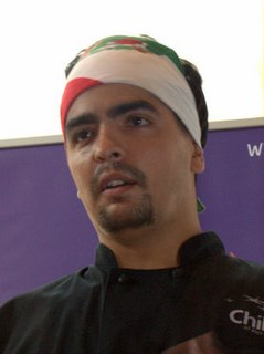 American Mexican chef and television personality