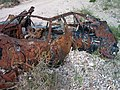 Abandoned Shot up Vehicle - panoramio - Zzyzx.jpg