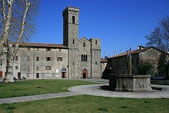 Abbadia San Salvatore - Image: Abbazia di s.salvatore