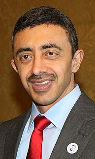 United Arab Emirates minister of foreign affairs