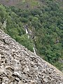 Aber Falls from Marian Rhaeadr-fawr scree slope - geograph.org.uk - 933670.jpg