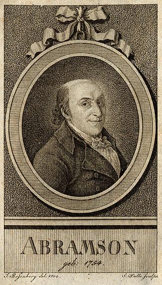 Abraham Abramson - Abraham Abramson (1754–1811)