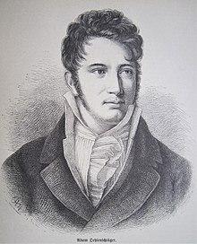 Adam Oehlenschläger, aus Gartenlaube 1879 (Quelle: Wikimedia)