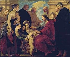 Adam van Noort - Let the children come to me