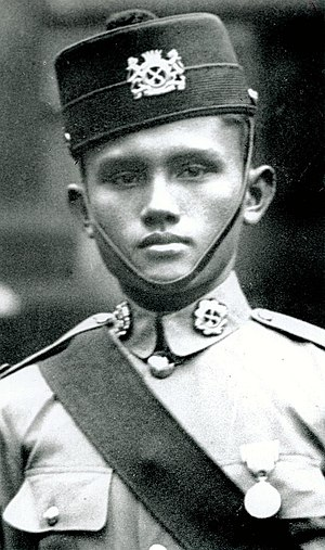 Adnan Saidi - Lieutenant Adnan, one of the heroes from Malay Regiments who fought the Japanese Imperial Armies fiercely and battle to his death during the Battle for Pasir Panjang in Singapore in 1942