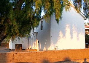 California Historical Landmarks in San Diego County, California - Image: Adobe Chapel