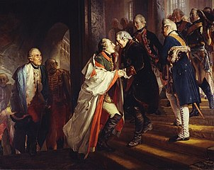 The Meeting of Frederick II and Joseph II in Neisse in 1769