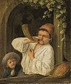 Adriaen van Ostade - A Baker Blowing his Horn.jpg
