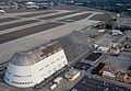 Aerial view of Moffett Field's Hangar One (2012).jpg