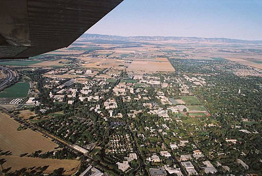 Aerial view of UC Davis