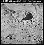 Aerial view of the RAF Fauld explosion crater 4 December 1944.jpg