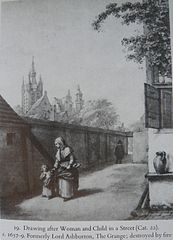 Woman and Child in a Street
