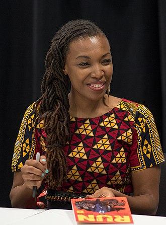 Afua Richardson - Richardson at BookExpo America in 2018