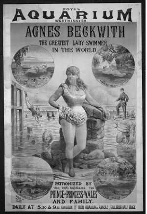Agnes Beckwith - Agnes Beckwith - Greatest Woman Swimmer in the World
