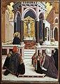Agnolo e bartolomeo degli erri, polittico di san pietro martire, 1460-90 ca., da s. domenico a modena, 02.jpg