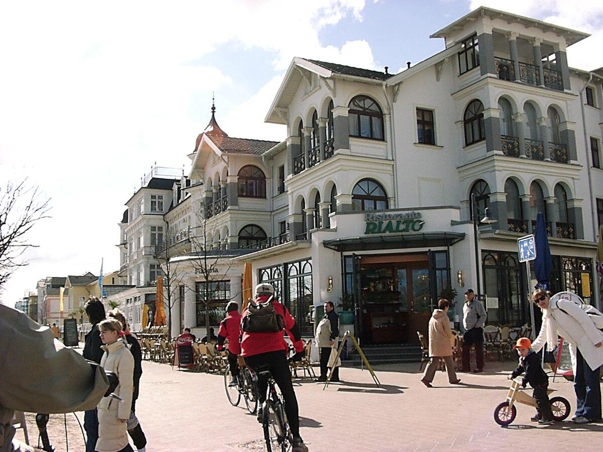 Hotel Restaurant Seebrucke Im Seeheilbad Zingst