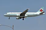 Air Canada, Airbus A320-211, C-FKCR - LAX (18875857940).jpg