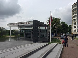 Airborne Museum 'Hartenstein' - Information Centre Battle of Arnhem, an appendix near the John Frost Bridge in Arnhem