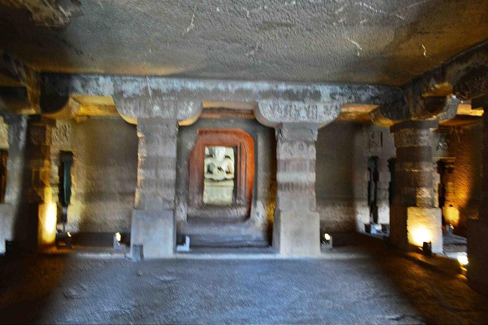 Ajanta Caves 124