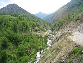 Aksarsay River - Aksarsay River, Uzbekistan