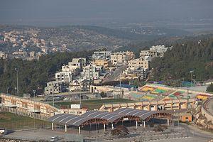 HaShalom Stadium - Image: Al Salam Stadium Umm al Fahm
