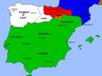 Umayyad conquest of Hispania - The Caliphate of Cordova in the early 10th century