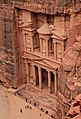 Al Khazneh (The Treasury) in Petra view from above 2.jpg
