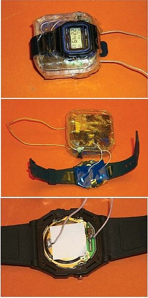Ahmed Ressam - This timer, built around a Casio f91w, the model bought by Ahmed Ressam, was captured in Afghanistan in the early 2000s.