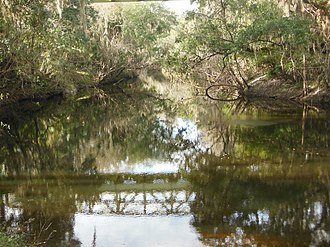 Fish Hawk, Florida - The Alafia River in FishHawk