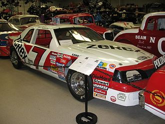 Alan Kulwicki - Kulwicki's 1988 car, which he used for his Polish victory lap