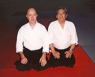 Alan Ruddock - Image: Alan Ruddock & Henry Kono at Galway Summer School 1997