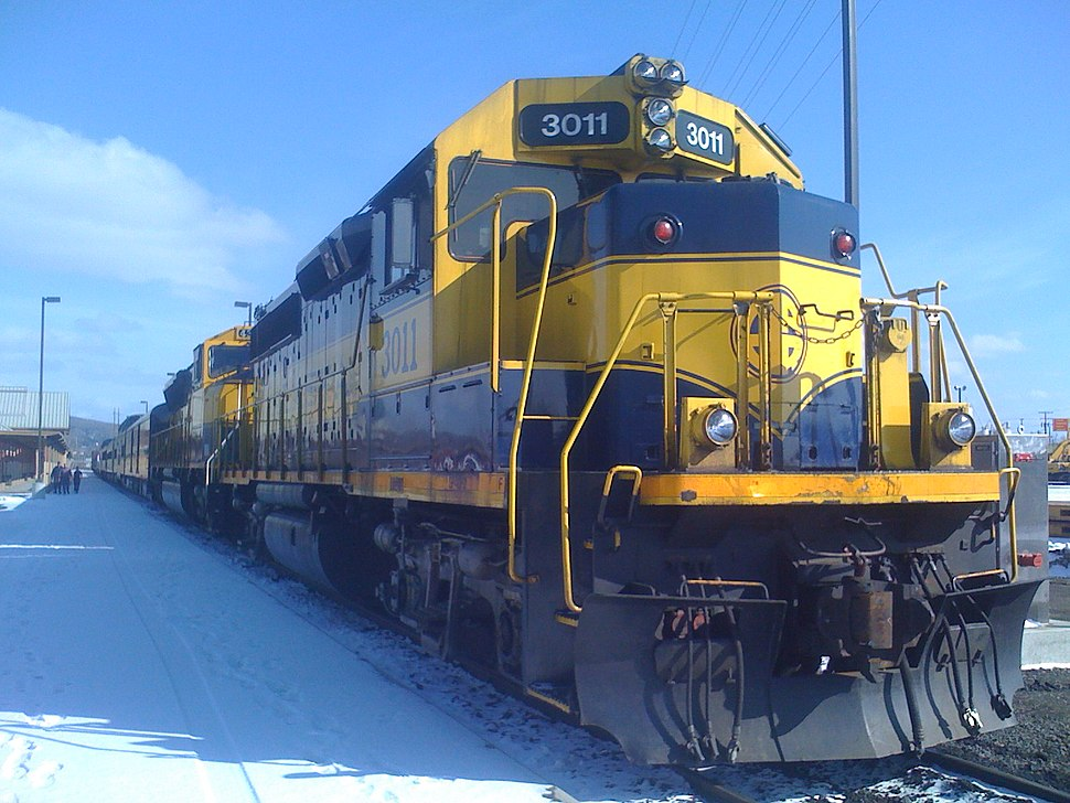 Alaska Railroad Locomotive