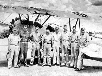 29th Flying Training Wing (U.S. Army Air Forces) - Image: Albany Army Airfield Door Aero Tech Flight Instructors