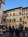 Albergo del Sole in Piazza della Rotonda in front of the Pantheon Rome.jpg