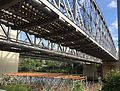 Albert Bridge Brisbane from Chelmer side of the river 01.jpeg