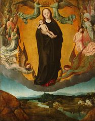 La Sainte Vierge dans la Gloire