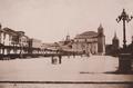 Alcalá de Henares (c. 1890) Plaza de Cervantes.png