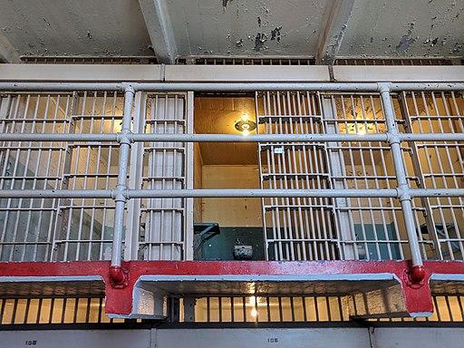 Alcatraz Federal Penitentiary - Cell 181 - Al Capone