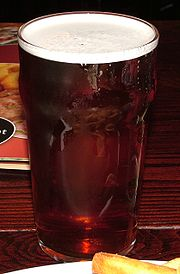 A pint of ale