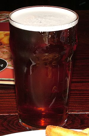 A pint of bitter