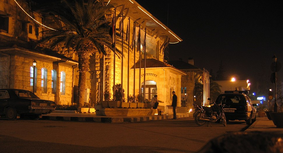 Aleppo Bagdad Railway Station, cropped