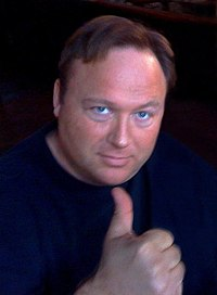 Alex Jones thumbs up